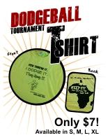dodgeball tournament publicity tools. Black Bedroom Furniture Sets. Home Design Ideas